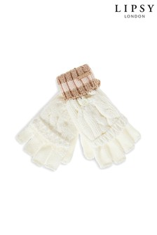 Lipsy Stripe Band Gloves