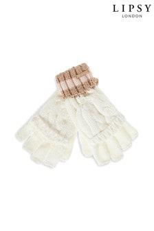 Lipsy Stripe Band Gloves