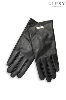 Lipsy Leather Smart Touch Gloves