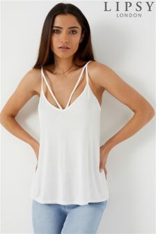 Lipsy Strappy Front Cami Top