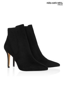Head Over Heels Pointed Sock Boots