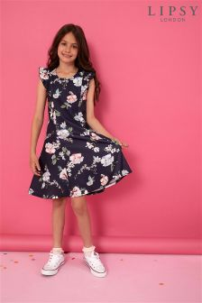 Lipsy Girl Naomi Print Skater Dress