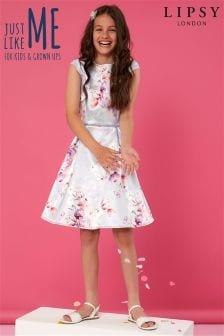Lipsy Girl Tori Print Skater Dress