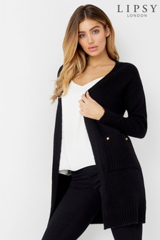 Lipsy Button Trim Coatigan