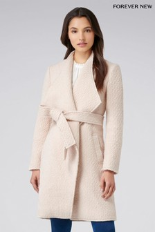 Forever New Petite Waterfall Coat