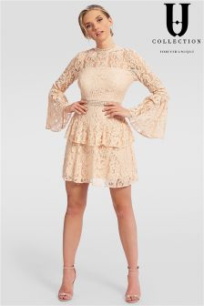 Forever Unique Lace Mini Dress