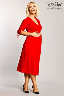 Want That Trend Maternity Tea Dress