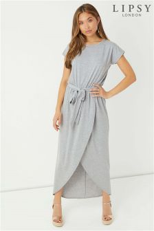 Lipsy Wrap Maxi Dress