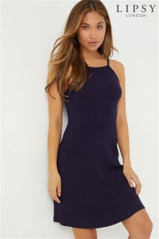 Lipsy Strappy Bar Back Dress