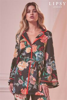 Lipsy Floral Belted Shirt