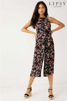 Lipsy Ditsy Floral Cullotte Cami Jumpsuit