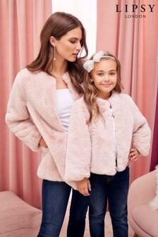 Lipsy Girl Faux Fur Jacket