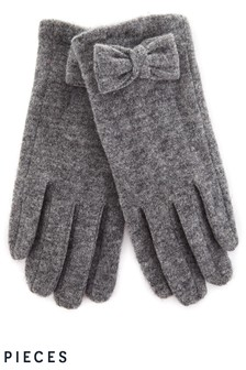 Pieces Wool Blend Gloves