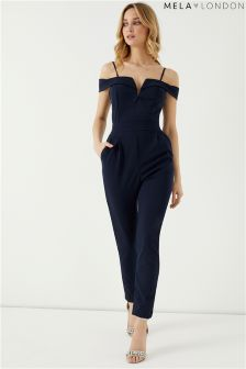 Mela London Structured V Jumpsuit
