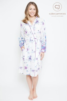 d6109a0261 Cyberjammies Floral Print Short Robe