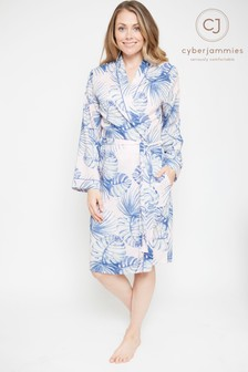 Cyberjammies Leaf Print Short Robe