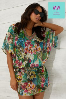 MW By Matthew Williamson Jungle Print Kaftan