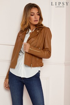 Lipsy Biker Leather Jacket
