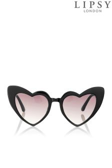 Lipsy Heart Cateye Sunglasses