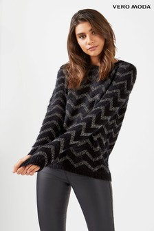 Vero Moda Feather Long Sleeve Jumper