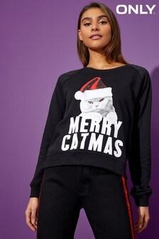 Only Long Sleeve Christmas Sweatshirt