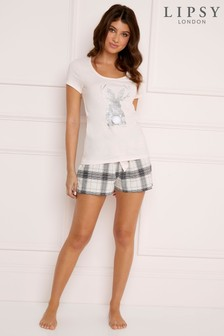 Lipsy Bunny T-Shirt And Shorts Set
