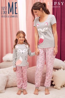 Lipsy Feeling Foxy Long Pyjama Set