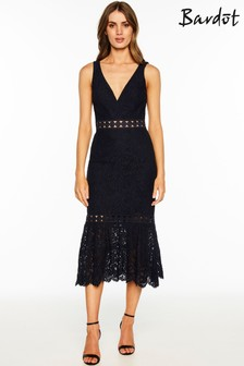 Bardot Trumpet Dress