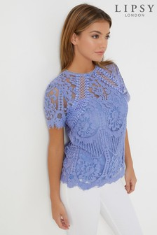 Lipsy VIP Lace Top