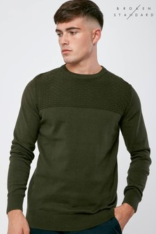 Broken Standard Textured Panel Jumper