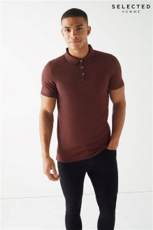 Selected Homme Short Sleeve Polo Shirt