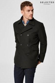 Selected Homme Wool Pea Coat