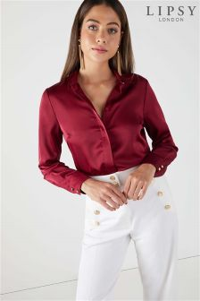 Lipsy Satin Shirt