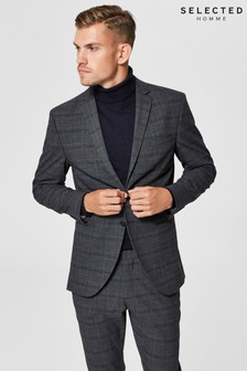 Selected Homme Check Blazer