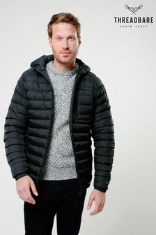 Threadbare Hooded Puffer Jacket