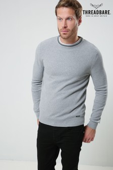 Threadbare Tipped Knit Jumper