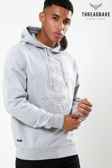 Threadbare Overhead Embossed Print Hoody