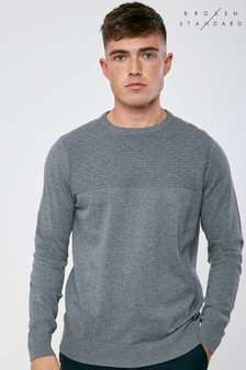 Broken Standard Textured Jumper