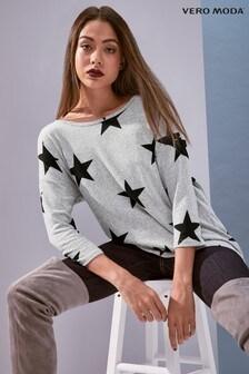 Vero Moda Star Print Top