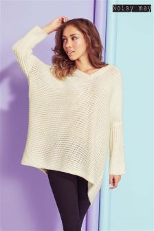 Noisy May V neck Jumper