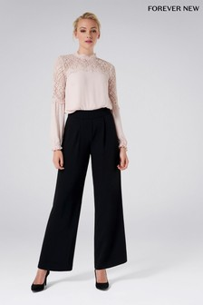 Forever New Petite Wide Leg Pants
