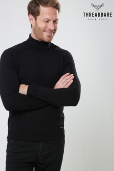 Threadbare Roll Neck Knitted Jumper