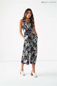 Mela London Tropical Culotte Jumpsuit