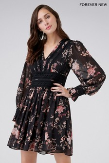 Платье с цветочным принтом Forever New