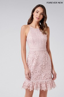 Forever New Lace Mini Dress