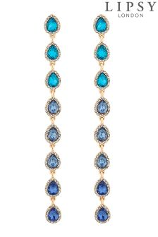 Lipsy Ombre Crystal Drop Earrings