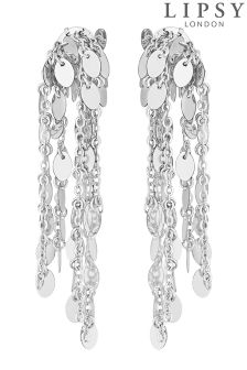 Lipsy Sequin Cascade Earrings