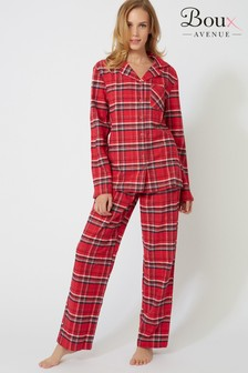 Boux Avenue Check Pyjama Set In A Bag