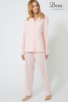 Boux Avenue Stripe PJ Set In A Bag