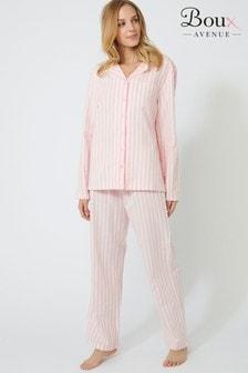 Boux Avenue Stripe PJ Set In A Bag